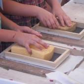 Atelier papier de chiffon de chanvre